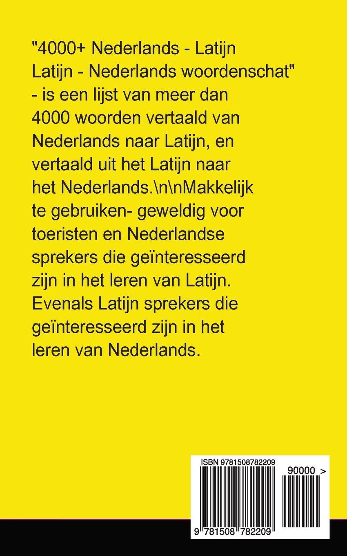 vertalen latijn nederlands woorden