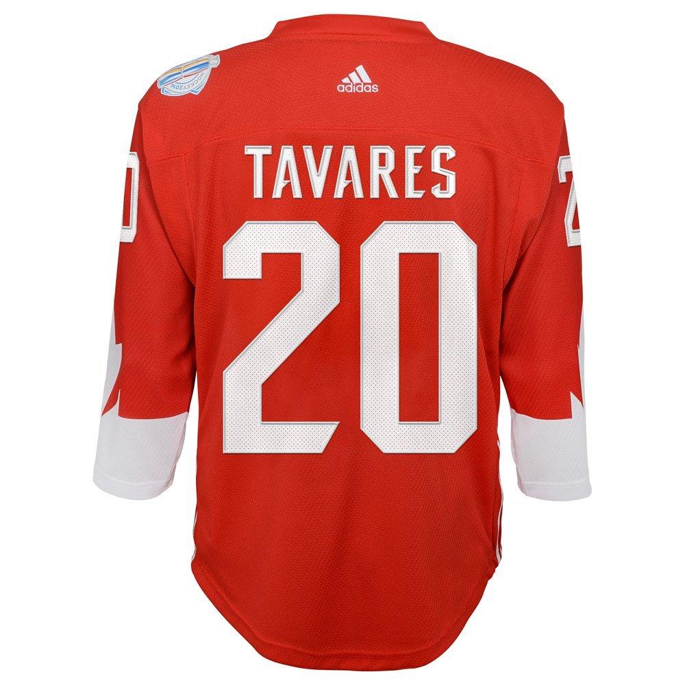 more photos 28a51 f4b7a Amazon.com: Adidas John Tavares #20 Team Canada Youth World ...