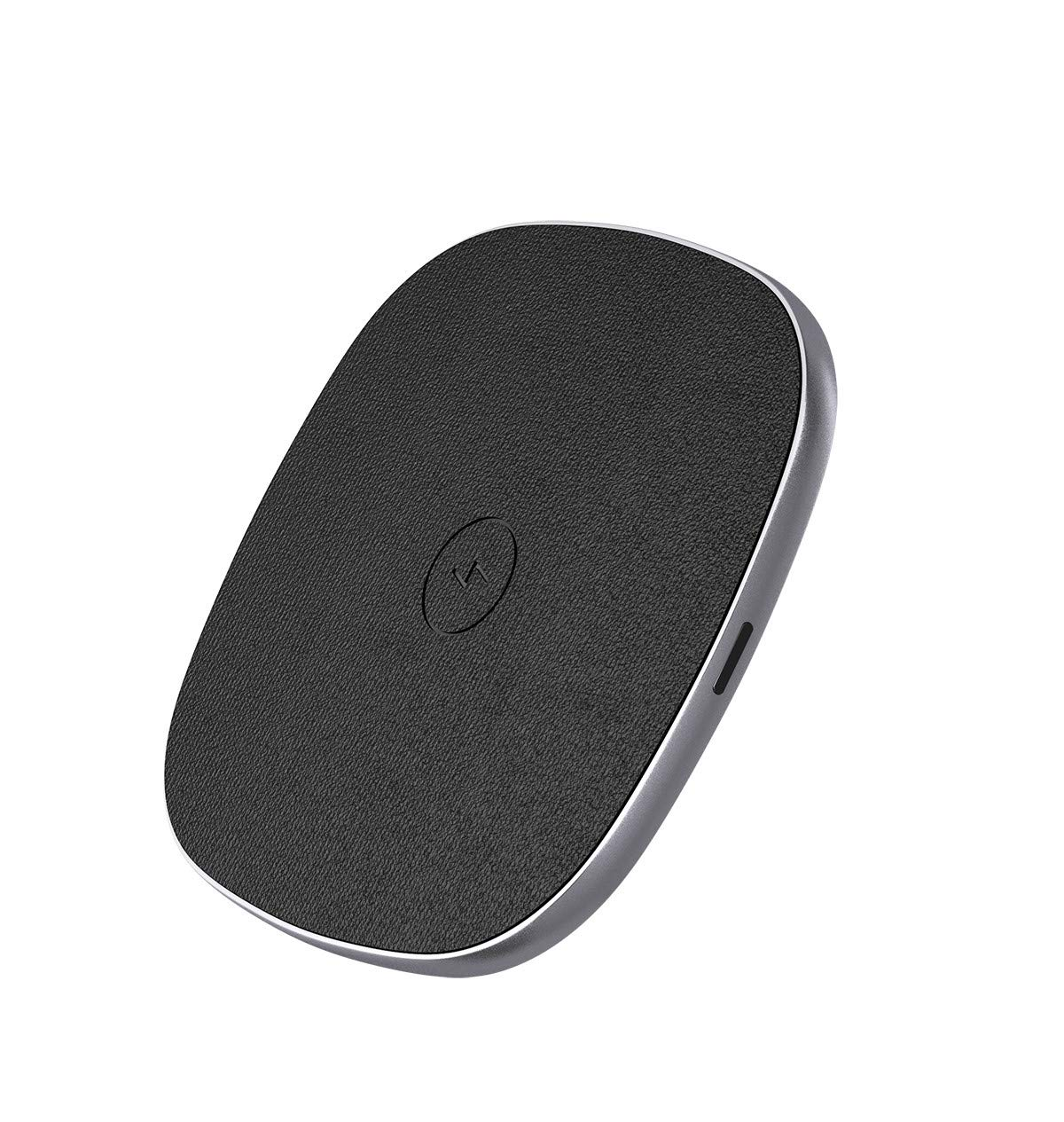 Poweradd Fast Wireless Charger, [10W/7.5W] Fast Charging Pad Compatible with iPhone XS/XS Max/XR/X/iPhone 8/8 Plus, Samsung Galaxy S9/S9+/S8/S8+/S7 and all Qi-enabled Devices