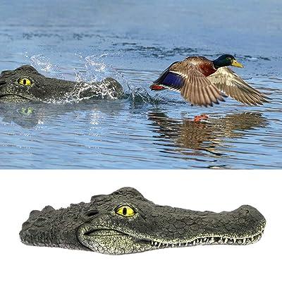 EpochTech Floating Alligator Head Decoy, Deter Animals Solution Float Gator for Pool Pond Garden Defender Decoration, Also a Trick Toy : Garden & Outdoor