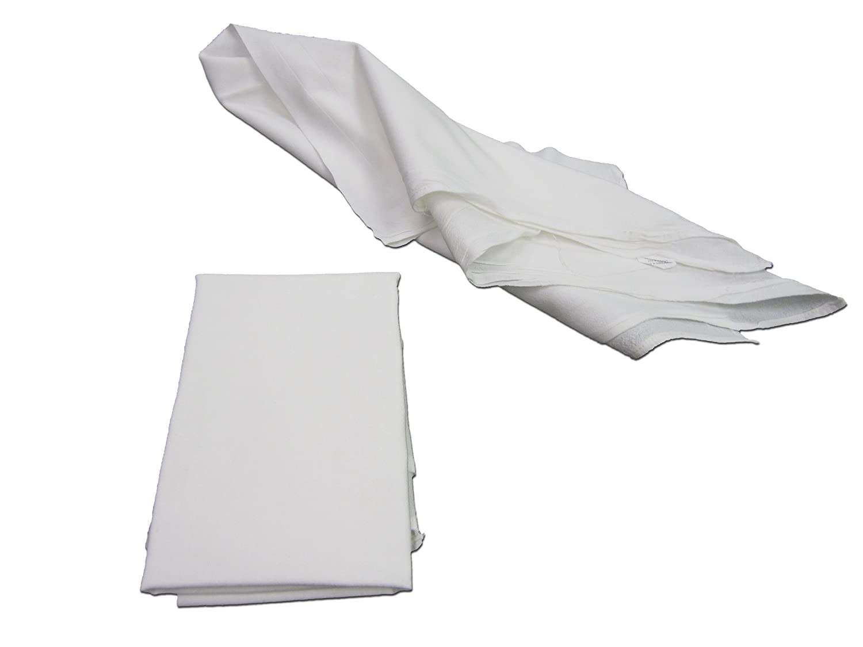 Pack of 10 Craft Basics 23120 Premium Flour Sack Towel Heavy Weight 20 x 20