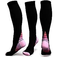 calcetines de compresión graduados graduados para hombres