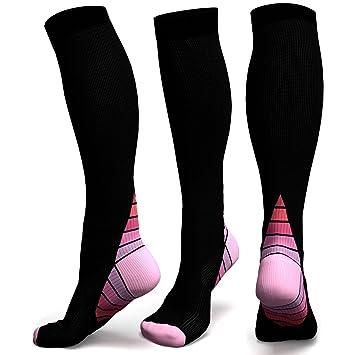 calcetines de compresión graduados graduados para hombres y mujeres - diseño PREMIUM ideal para uso diario