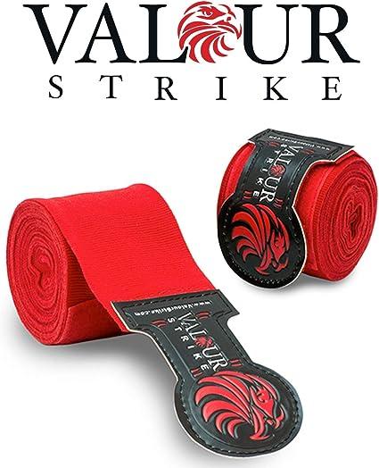 Pro Boxeo Mano Wraps ☆ Rojo ☆ mexicana vendaje Muay Thai PRO sangre rojo Wrap y