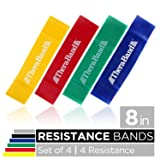 TheraBand Resistance Band Loop Set, Pack of