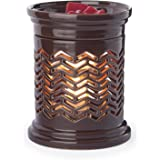 Candle Warmers Etc. Illumination Candle Warmer, Chevron