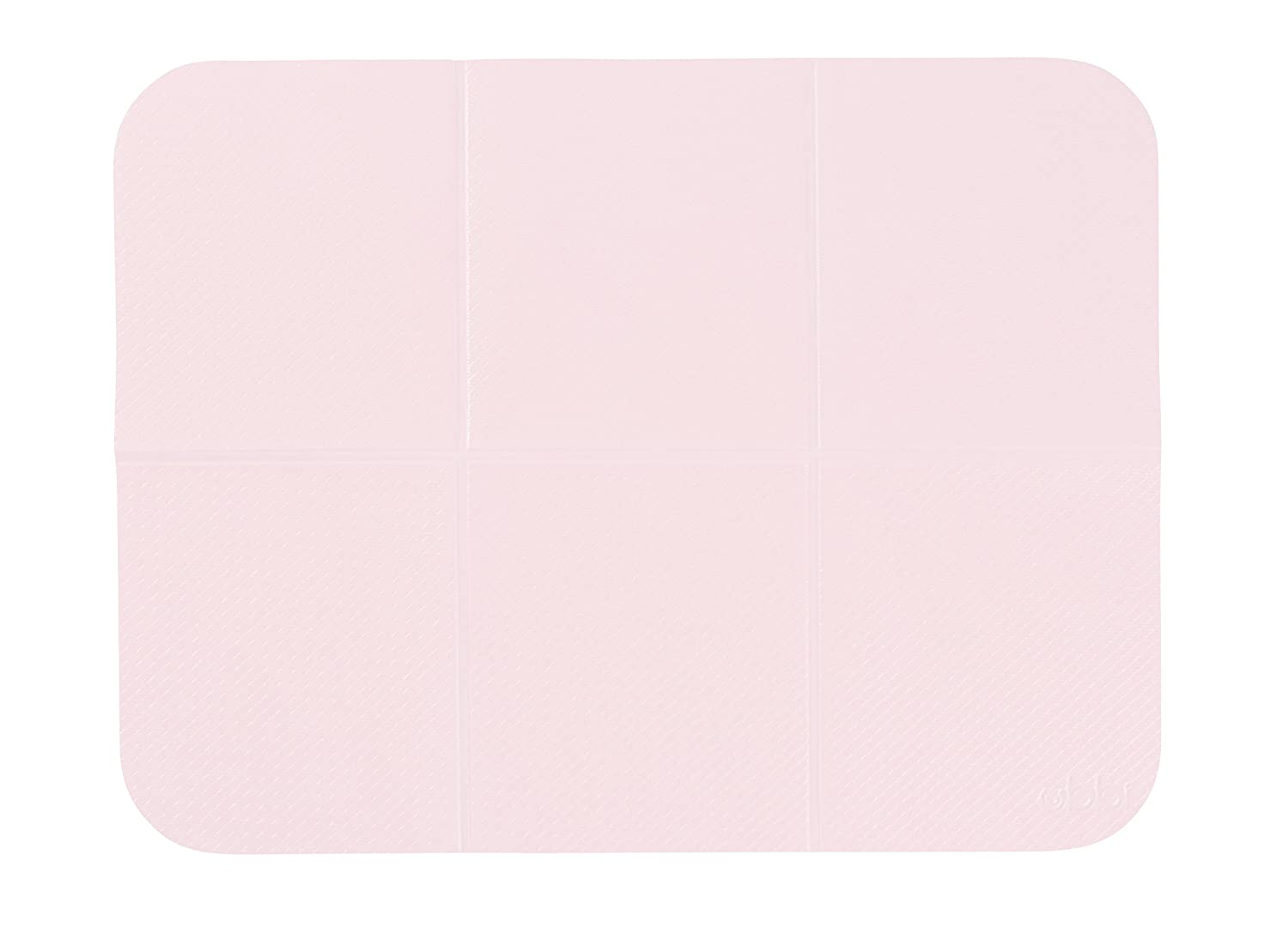 Ubbi Diaper Storage Caddy Wipes Dispenser and Changing Mat Set, Pink Pearhead 10157