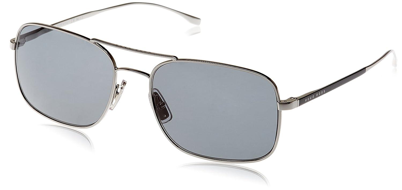 cab69174e4e2 Boss Unisex-Adult's 0781/S RA Sunglasses, SMMT Rnumth Blk, 58:  Amazon.co.uk: Clothing