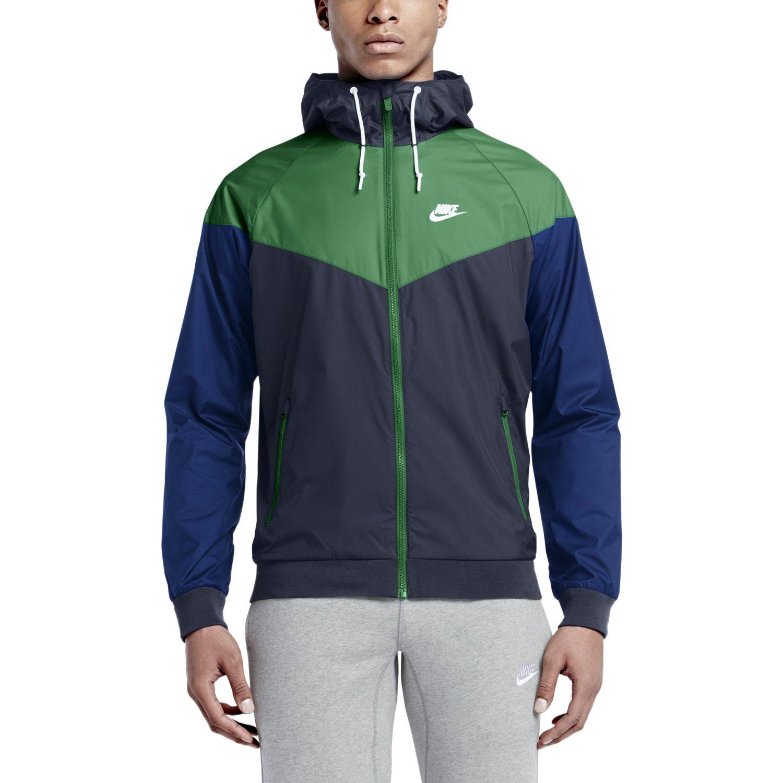 Top Hardware Herren Nike WINDRUNNER Marine Rot Blau Jacken