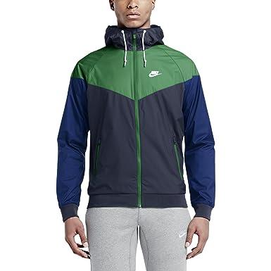 505cb32ad5ed Nike  727324-451  Windrunner Jacket Apparel Jackets NIKEDARK Blue ...