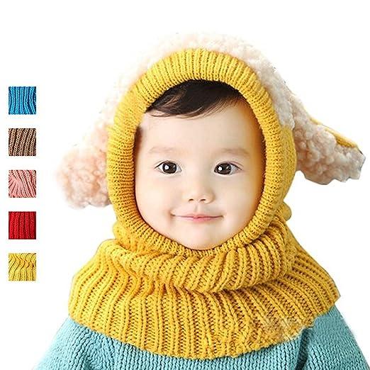 922d01fd AStorePlus Cute Cartoon Puppy Ear Shape Hats With Baby Boys Girls Kids Warm  Autumn Winter Infinity