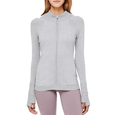 Lululemon TIME to Thrive Jacket - HSVD (Heathered Silver Drop) at Women's Clothing store
