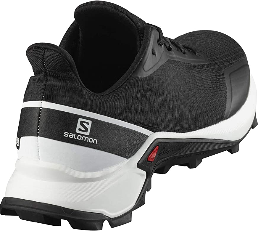 SALOMON Alphacross, Zapatillas De Trail Running para Hombre, Negro Black White Monument, 40 EU: Amazon.es: Zapatos y complementos