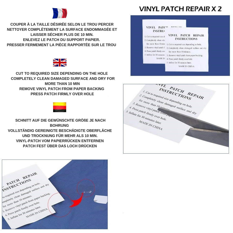 Tendance con Outdoor Colchón Inflable Esterillas + Hinchable con Tendance Almohada Ofertado {Azul} + Ebook Gratis d1191b