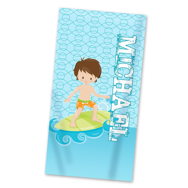 30x60 Surf Boy Velour Beach Towel