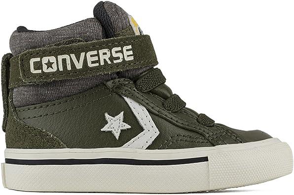 vacío herramienta Empotrar  Converse - Botas de Piel para niño Verde verde oliva, color Verde, talla 34  EU: Amazon.es: Zapatos y complementos