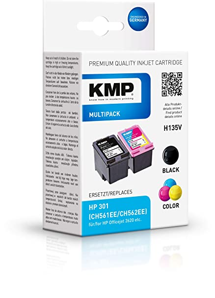 KMP H135V 3ml 3ml Negro, Cian, Magenta, Amarillo cartucho de tinta ...