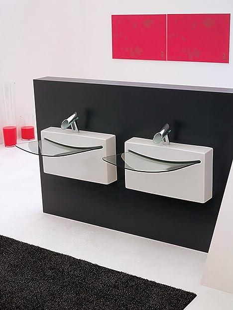 waschtisch glas mit interesting beautiful wcarmaturen warmes und kaltes glas wasserfall armatur. Black Bedroom Furniture Sets. Home Design Ideas