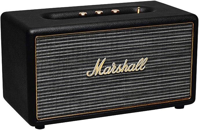 Marshall Stanmore Bluetooth Lautsprecher Schwarz Uk Audio Hifi