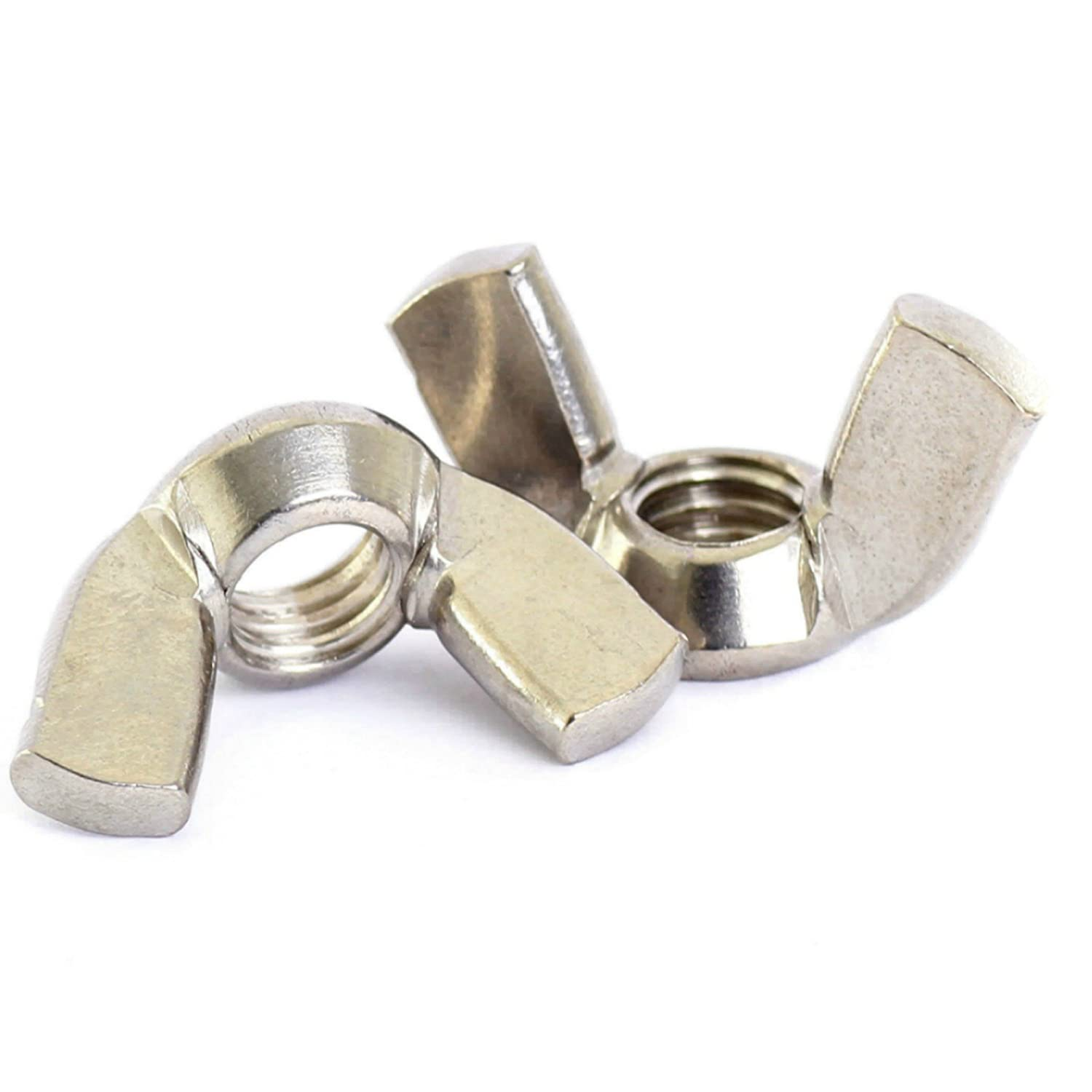 Bolt Base 10mm A2 Stainless Steel Wing Nuts Butterfly Nut DIN 315 M10 - 20