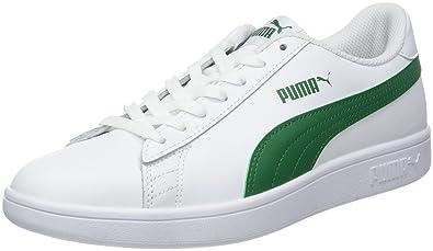new product efa58 8a1f8 Puma Puma Smash v2 L, Unisex-Erwachsene Sneakers, Weiß (Puma White-