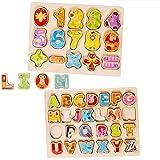 e17a3399fd39 BOBORA Puzzles Infantiles de Madera Juegos Juguetes Educativos de Aprendizaje  Juguete Rompecabezas de Madera para Niños ...