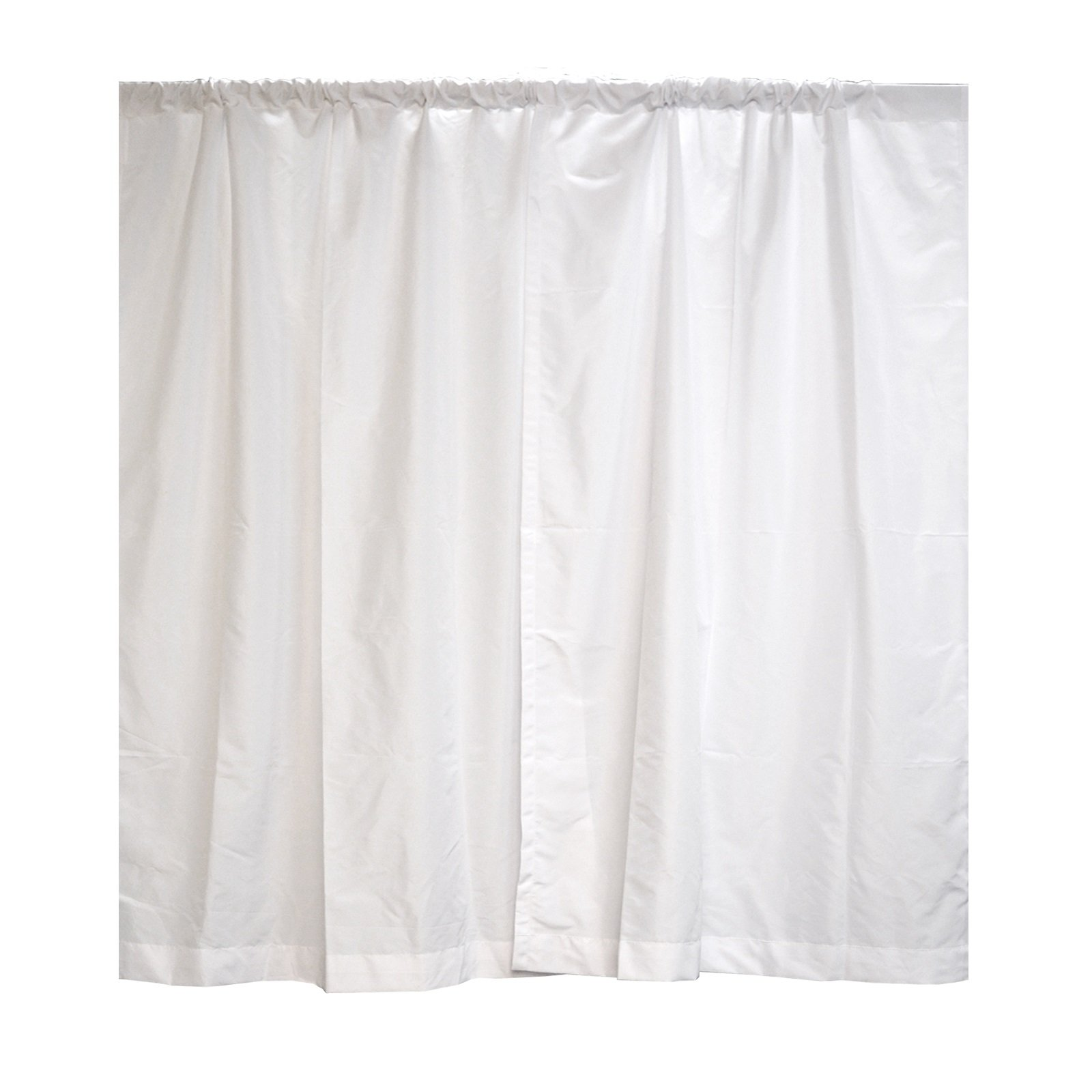 Premier Drape Panel by Crowd Control Center (94''x60'', White)