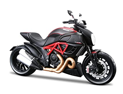 Buy Maisto 1 12 Ducati Diavel Carbon Red Black Online At Low Prices