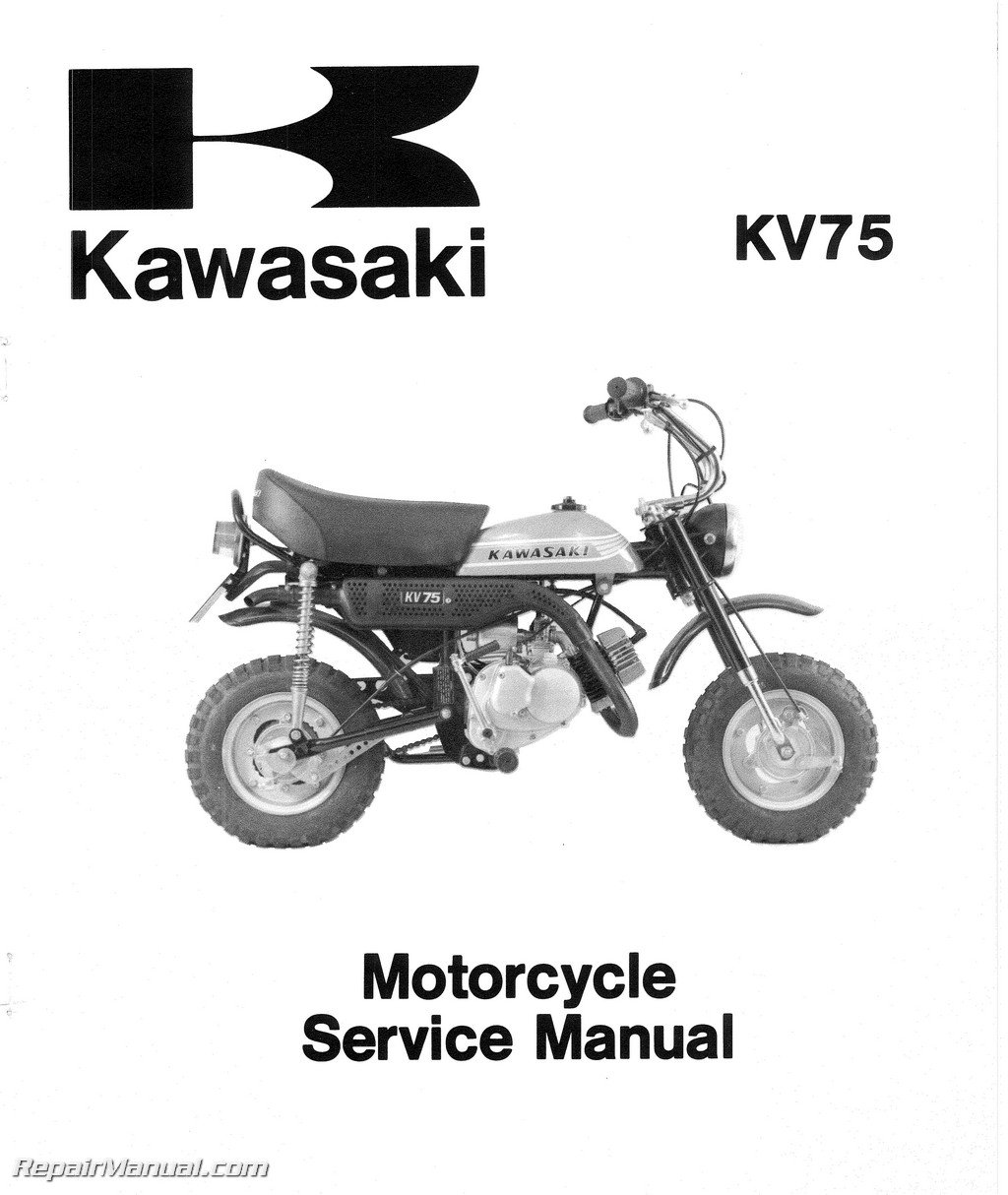 Kawasaki Kv75 Wiring Diagram - Wiring Diagrams Schematics