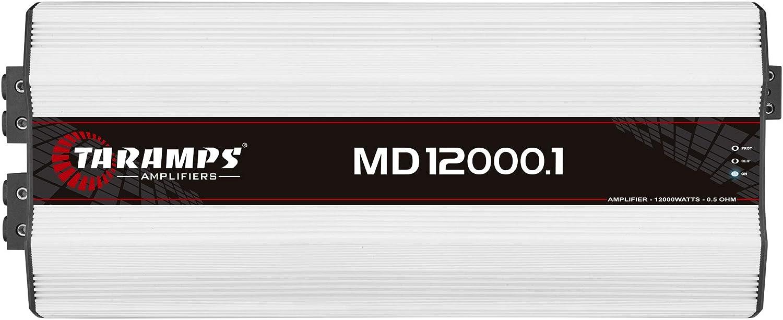 Taramps MD 12000.1 0.5 Ohm 12000 Watts Class D Full Range Mono Amplifier