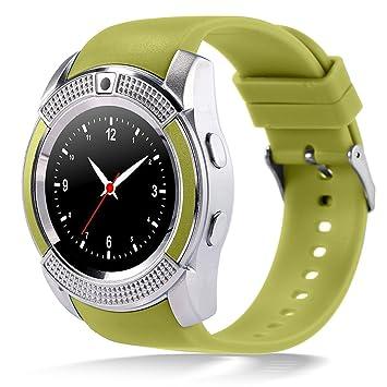 qimaoo pulsera reloj inteligente SmartWatch recargable electrónico podomère miniteur de ritmo cardiaco anti-perdu notificationd