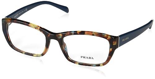 Amazon.com: Prada pr18ov Eyeglass Frames nag1o1 – 54 – La ...