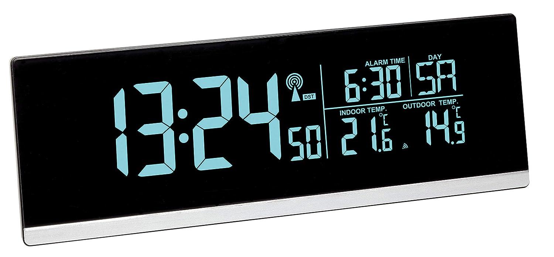TFA Dostmann 60.2548.01 de Radio Despertador Digital con Cambio de ...