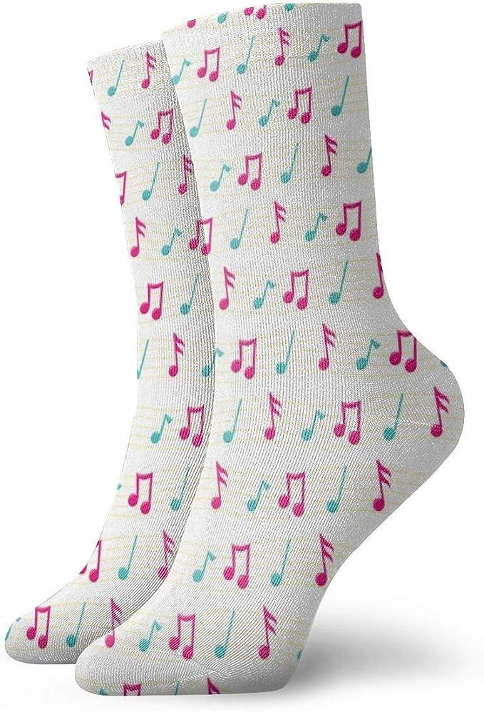 Calcetines para mujer 39 – 42 Niña, música, diversión, calcetines ...