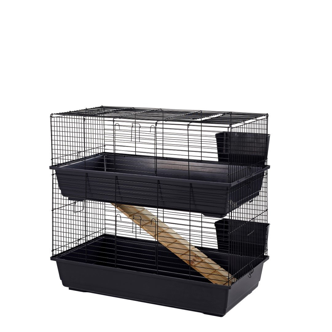 Double Decker Indoor Guinea Pig Cage 100cm