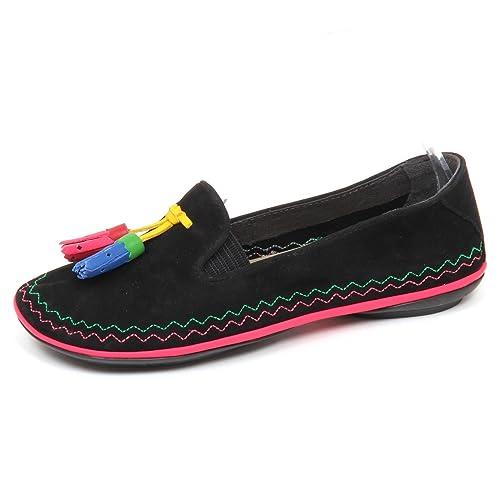 Camper - Mocasines Para Mujer Negro Negro Negro Size: 38 EU: Amazon.es: Zapatos y complementos