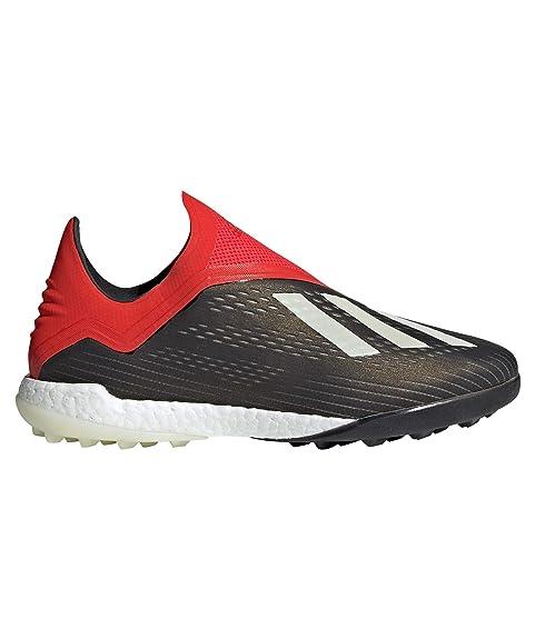 save off fbfba 00517 adidas X Tango 18+ Turf, Zapatilla de fútbol, Core Black-White-Active Red  Amazon.es Zapatos y complementos