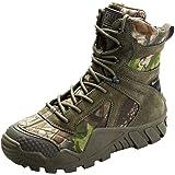 FREE SOLDIER Hombres Militares High-Top Zapatos táctico Senderismo Botas Cordones Trabajo Combate Todos los terrenos Botas Resistente al Agua 3 Colores