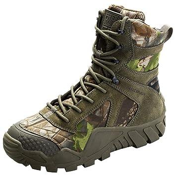 FREE SOLDIER Herren Military Top Sneaker Schuhe Tactical Wandern Stiefel  Schnürschuh Arbeit Combat All Terrain Verschleißfest c628cbdae8