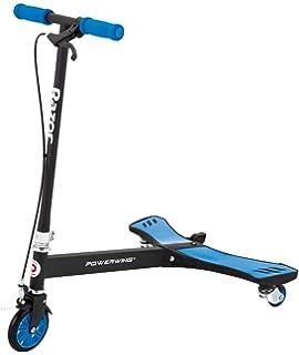 Amazon.com: Razor PowerWing DLX Caster Scooter: Sports ...