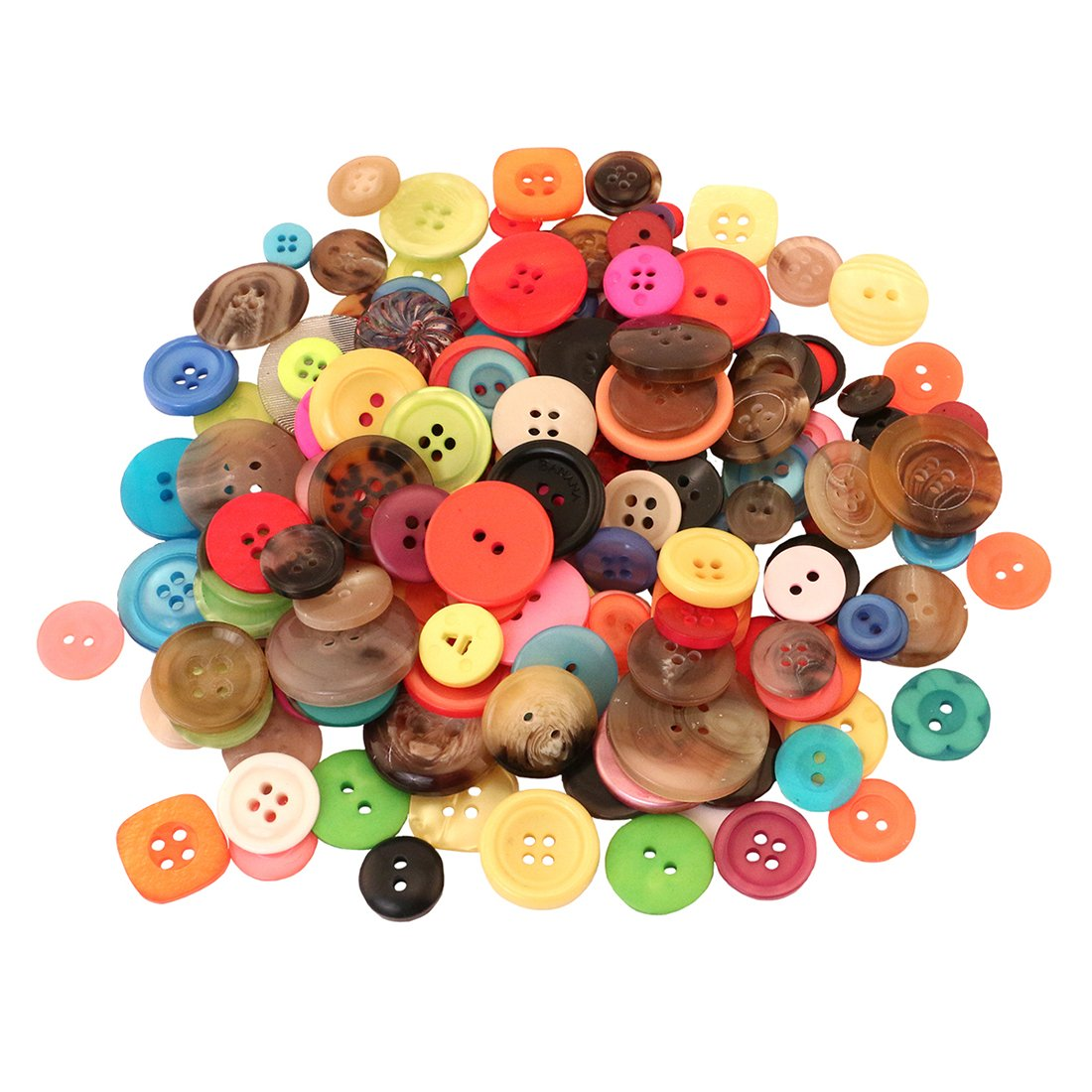 Hygloss Products Bucket O' Buttons, Assorted Buttons for Arts and Crafts, 5 Pound Bucket