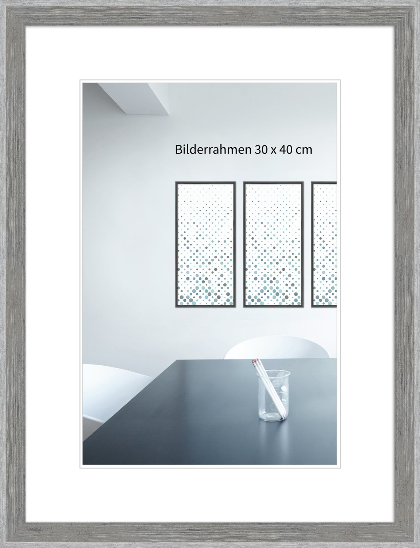 WandStyle Bilderrahmen H790 Strandhaus, rustikal aus Massivholz mit ...
