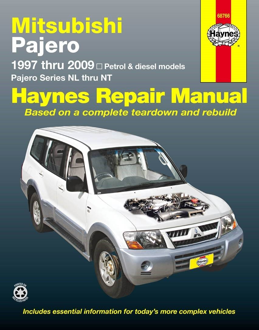 Mitsubishi Pajero Automotive Repair Manual.: Haynes Publishing (author):  9781620921395: Amazon.com: Books