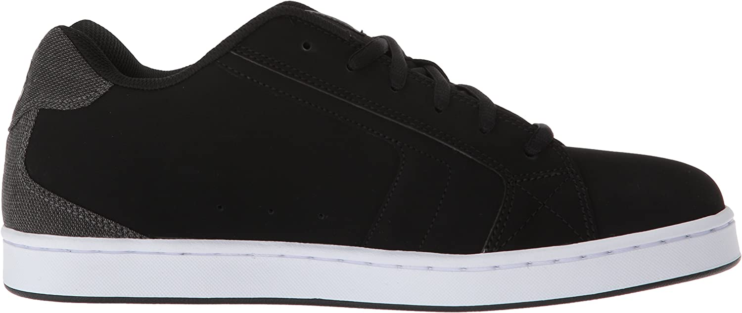 DC Shoes NET SE SHOE D0302297, Herren, Sneaker Black Black Grey