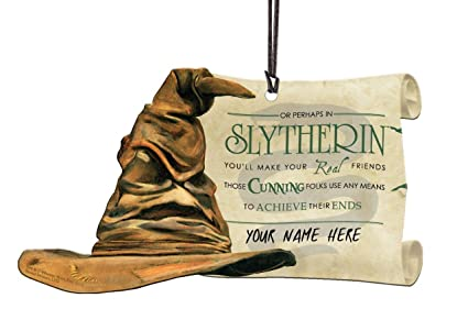 Trend Setters Harry Potter Sorting Hat Slytherin Personalized Hanging  Acrylic 2eeea8002a82