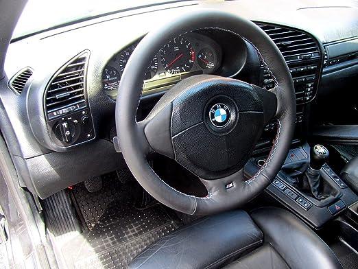 Amazon.com: RedlineGoods BMW 3-series E36 1990-98 cubierta del volante Msport de: Automotive