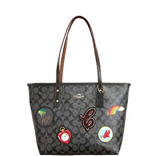 1352d56a4a Coach Signature City Zip Tote Bag Handbag