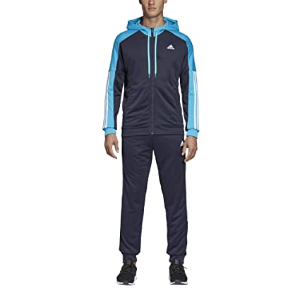 ADIDAS PERFORMANCE Trainingsanzug »TRACKSUIT GAME TIME« Grau