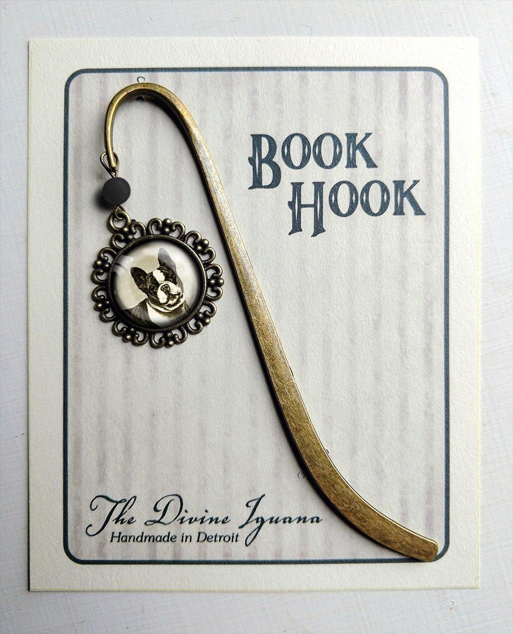 brass bookmark French Bulldog or Boston Terrier