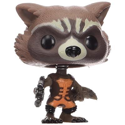 Funko Pop Marvel Guardians of The Galaxy - Rocket Raccoon Vinyl Bobble Head Figure: Funko Pop! Marvel:: Toys & Games